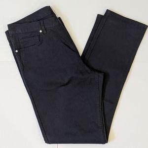 H&M men's slim fit navy blue pants sz 33